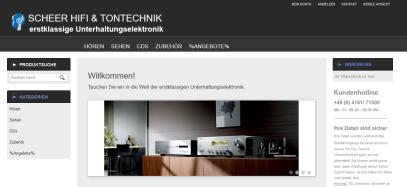 www.scheerhifi-shop.de